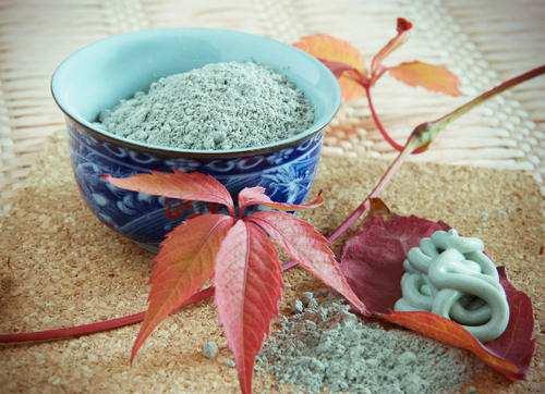 Лечение голубой глиной