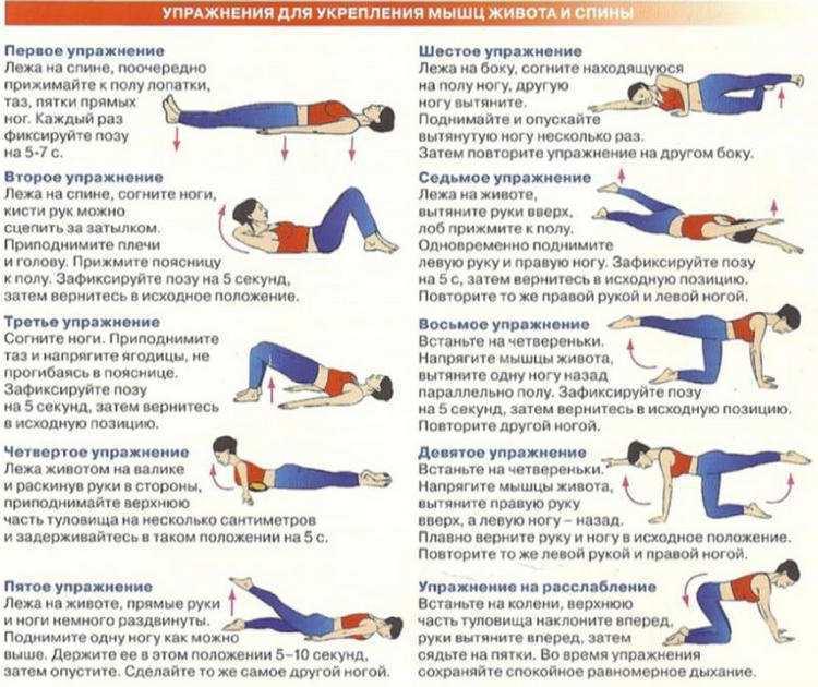Как сделать мышечный корсет спины