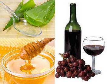 Картинки по запросу алоэ мед вино