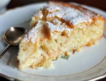 шарлотка с яблоками рецепт в духовке с творогом