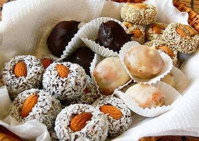 Полезные конфеты без сахара