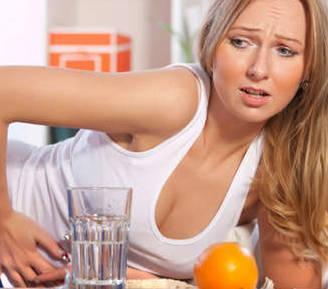Симптомы пищевого отравления