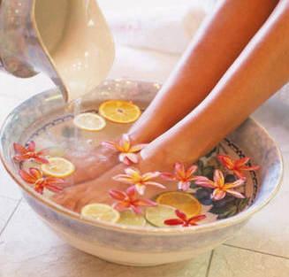 Ванночки для ног с эфирными маслами