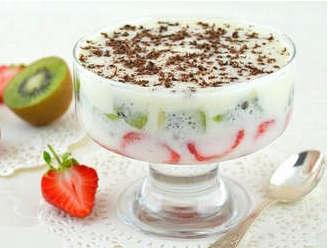 Диета для сердца. Йогурт с фруктами