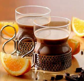 Какао с апельсиновым соком