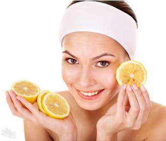 Маски с лимоном для лица