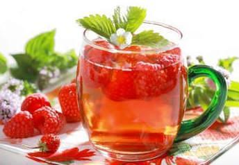 Рецепты чай с малиной