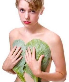 Капустный лист для лечения мастопатии