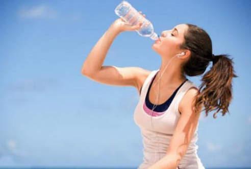 Вода во время занятий спортом