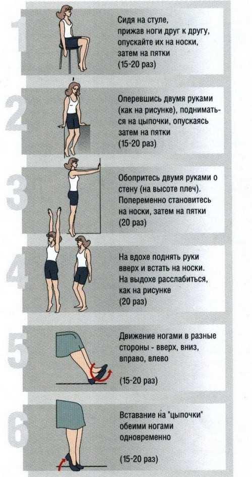 Лечебная гимнастика при варикозном расширении вен