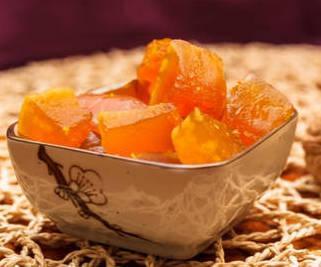 Цукаты из тыквы с апельсином