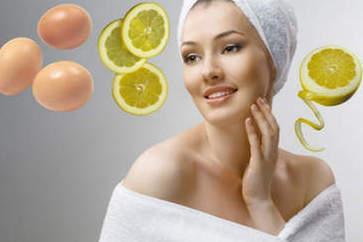 Маска из белка и лимона для лица