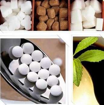 Какие бывают сахарозаменители