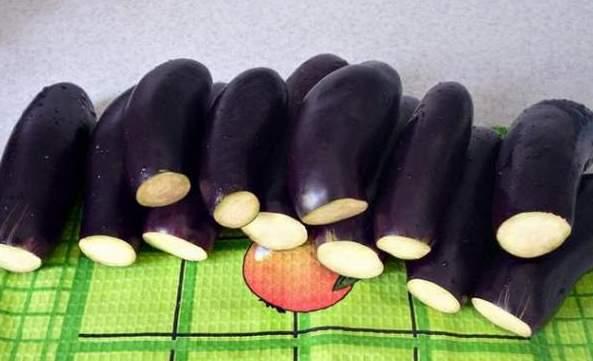 Пошаговый рецепт приготовления квашеных фаршированных баклажанов