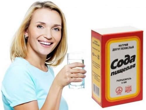 Сода и соль для лечения горла