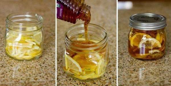 Желе с имбирем, лимоном и медом