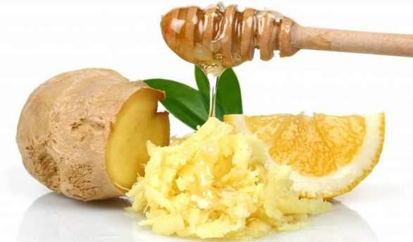 Имбирь с лимоном и медом для повышения иммунитета