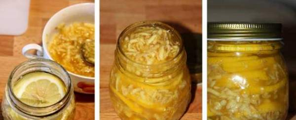 Приготовление имбирной смеси с лимоном и медом