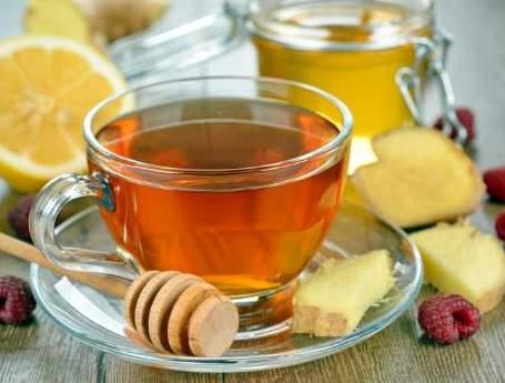Имбирный чай с медом и лимоном от простуды