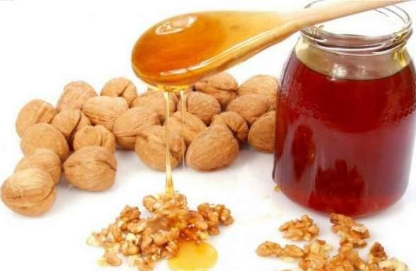 Орехи, мед, лимон для укрепления нервов