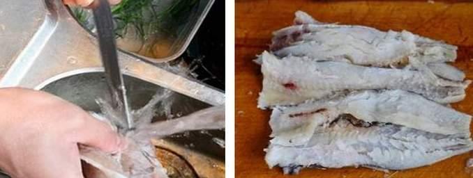 Как приготовит филе путассу